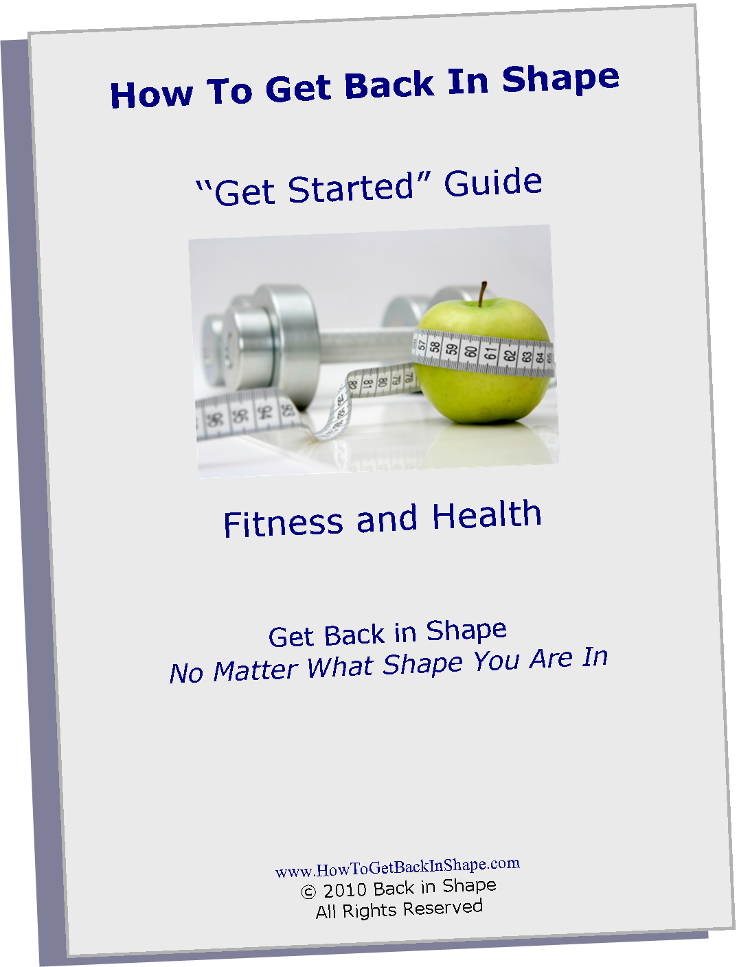 How To Get Back In Shape Get Started Guide