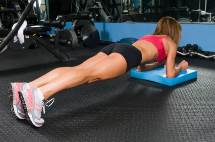 Get Back in Shape with Stability Fitness - The Plank Exercise